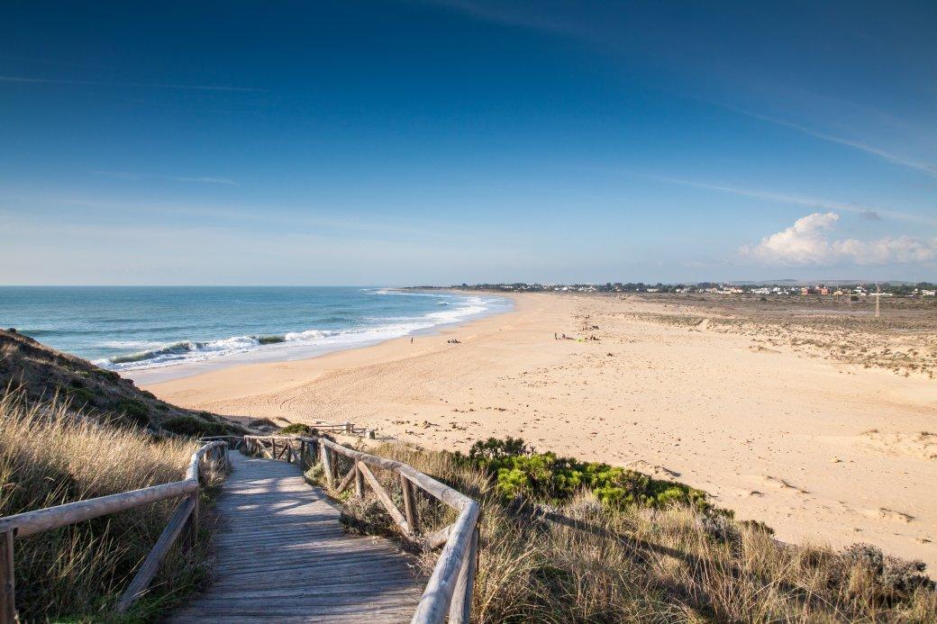strand aan de Costa de la Luz